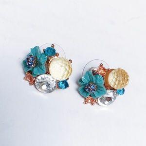 Betsey Johnson - Cluster Earrings